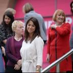 Preston and Leyland Citizen: Gloria De Piero stands with other female MPs as they attend the Labour women's conference in Manchester