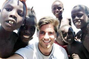 Former Stonyhurst pupil hikes across Europe on charity mission