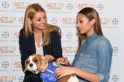 Alesha Dixon and Tess Daly want to warn your dog about lungworm