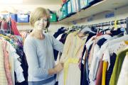 FINAL CURTAIN: Jane Rowkins at The Dress Circle costume hire shop in Berry Lane, Longridge, which is looking to close and it trying to sell its stock of 3,000 costumes
