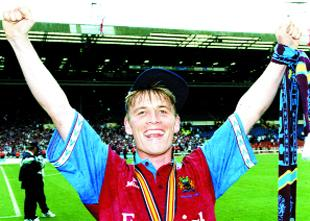 Preston and Leyland Citizen: CLARETS HERO: Gary Parkinson